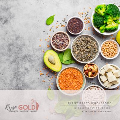 Plant based wholefood recipe eBook